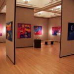 Pam RuBert contemporary art quilts at William Woods University