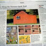 quilt in Wall Street Journal