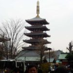 photo journal image of temple in Tokyo, Japan