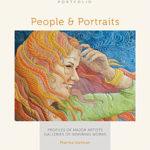 People and Portraits special exhibit at the Houston International Quilt Festival