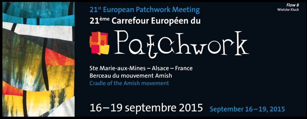 """Threads of Thought"" at the European Patchwork Meeting"