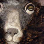 Paula Rosen's needlefelted sheep