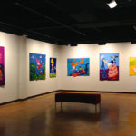 Pam RuBert quilts in Pool Art Center