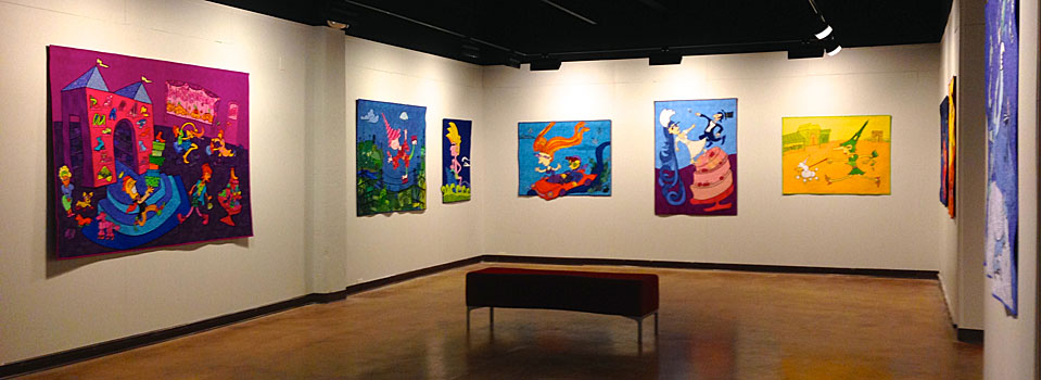 """Stitches Across Time"" at Drury University's Pool Art Center"
